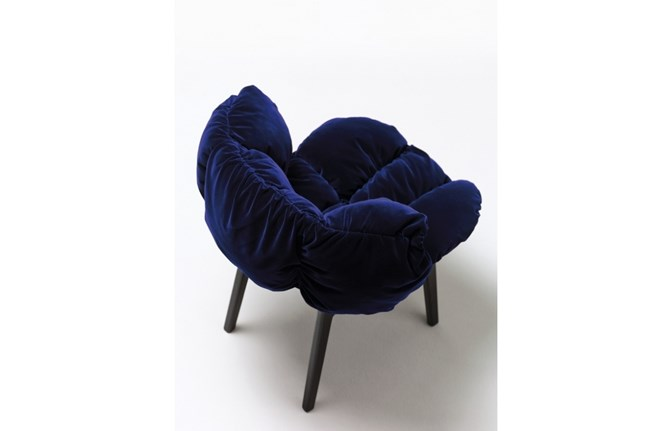 Blu Velvet by Fernando and Umberto Campana for Edra