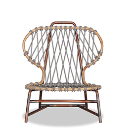 Manila chair by Paola Navone for Baxter