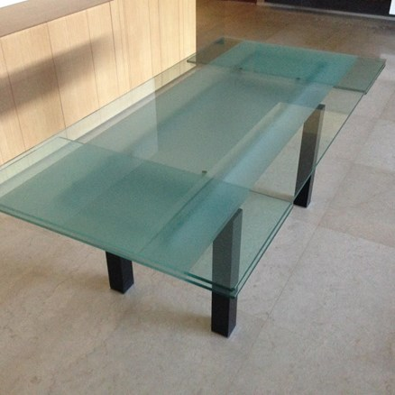 Cattelan glass dining table