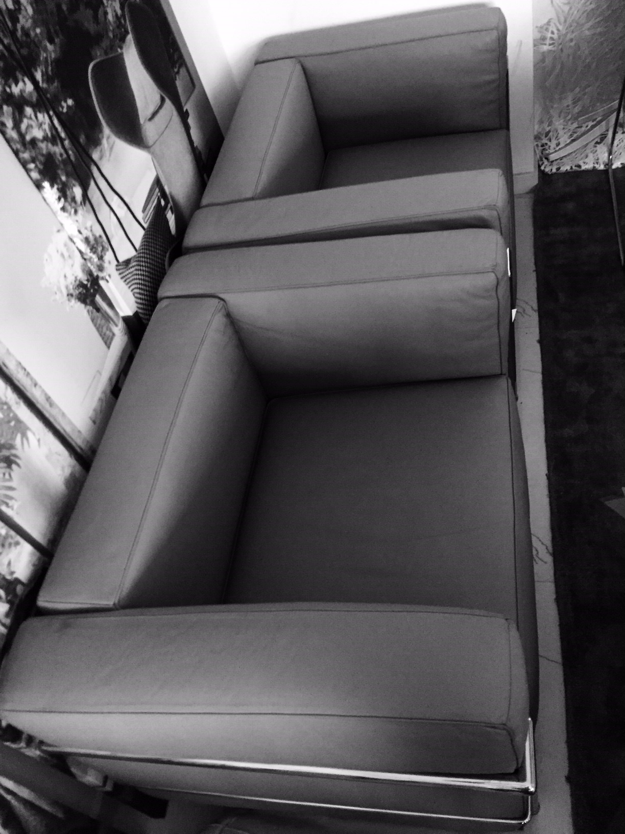Le Corbusier LC3 armchairs